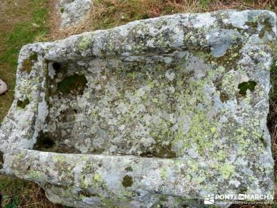 Castillo de Viriato-Sierra San Vicente - El Piélago;rascafria las presillas senderismo la palma